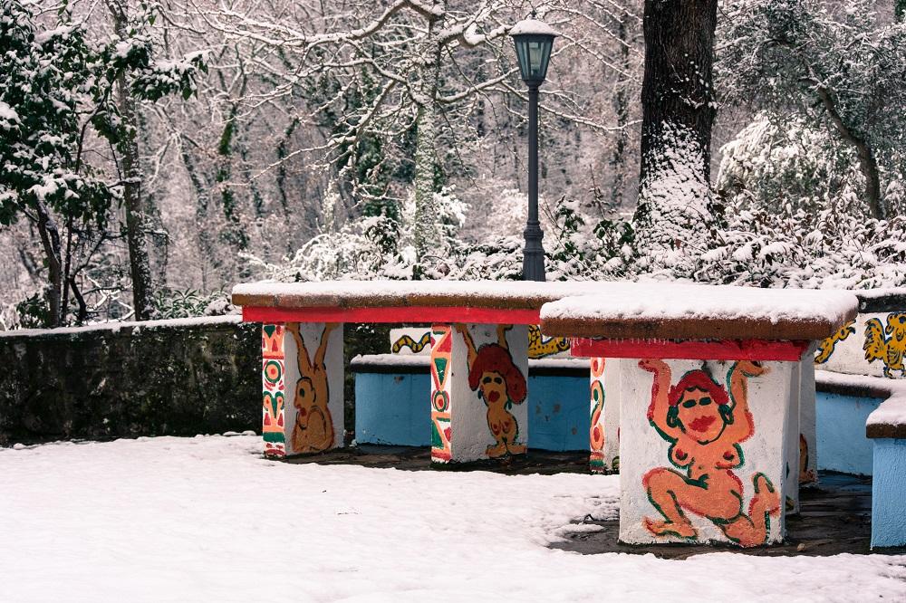 Nittardi in inverno